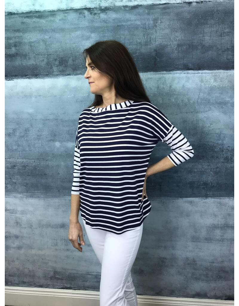 Peruzzi Long Sleeved Stripe Top