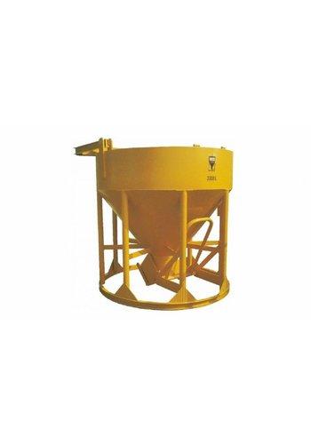 Beco Cuve à béton Droit / évacuation en dessous 500L