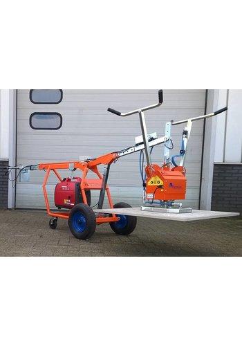 Hamevac Verlegwagen voor units met accu
