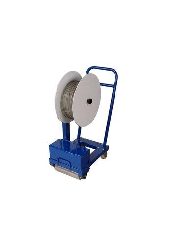 Betontrowel Transportkar rubberen voegen