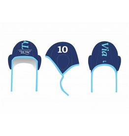 Force TriVia waterpolocaps - blauw