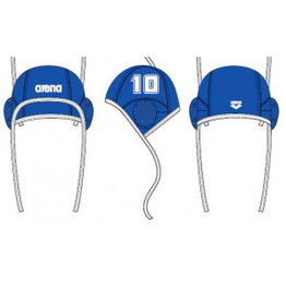 Arena Arena Water Polo Caps - losse nummers - BLAUW