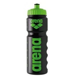 Arena Arena Bidon zwart met groen
