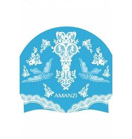 Amanzi Amanzi Badmuts Bluebirds Swim Cap