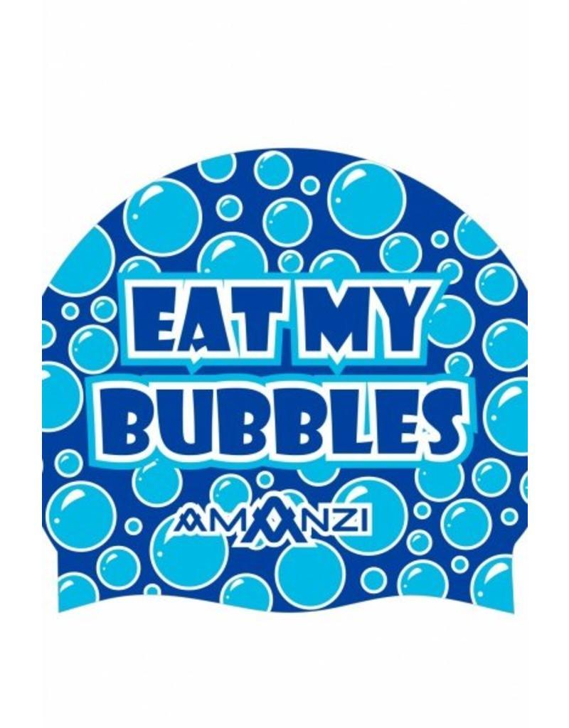 Amanzi Amanzi Badmuts Eat My Bubbles Swim Cap
