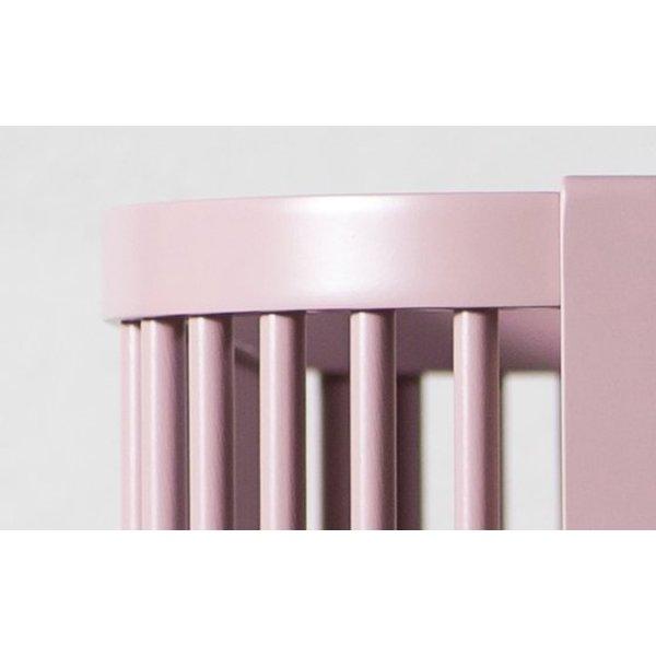 Sebra bed roze hout