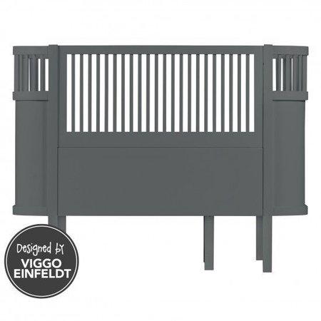 Sebra Sebra bed dark grey wood