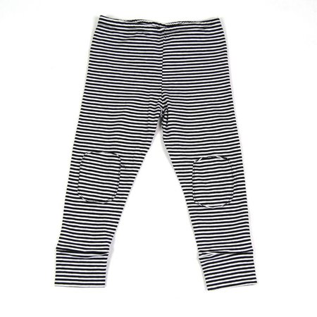 MINGO Legging B/W Stripes