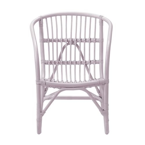 Bloomingville Mini Charlotte rattan chair pink