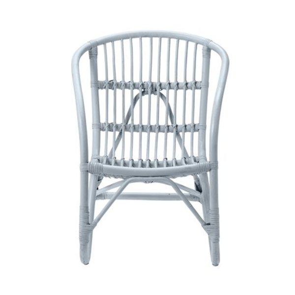 Pepper rotan stoel blauw
