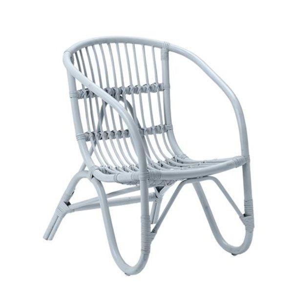 Pepper rattan chair blue