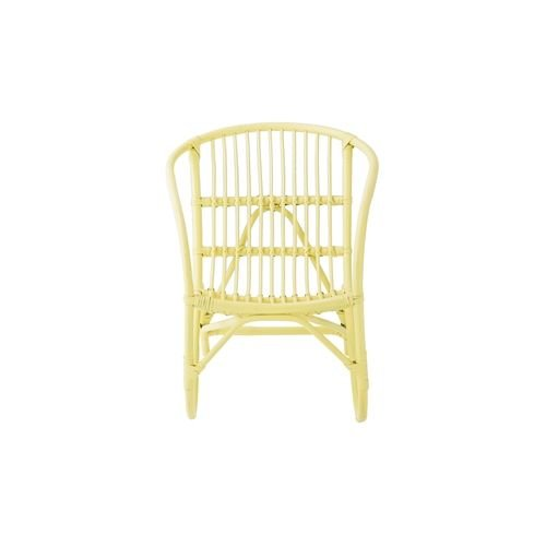 Bloomingville Mini Salt rattan chair yellow