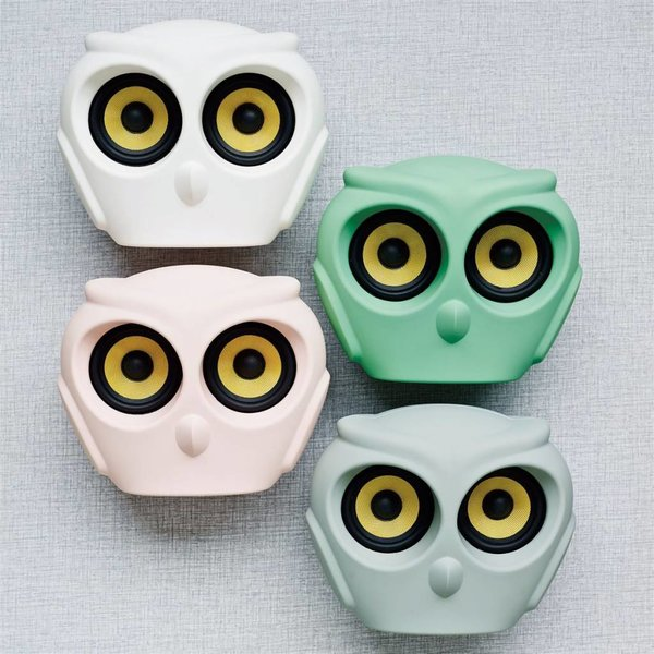 aOwl bluetooth speaker roze