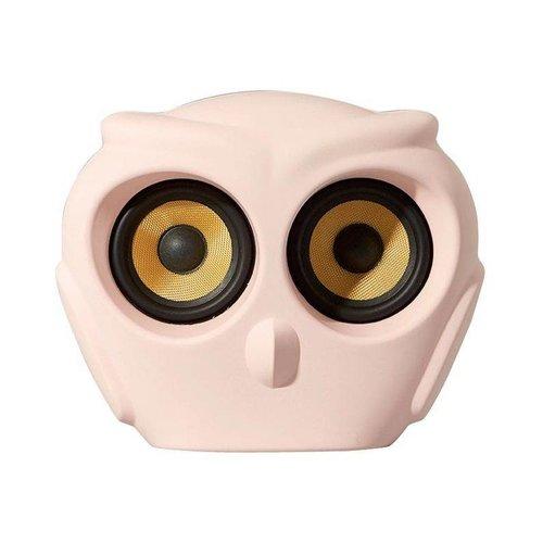 Kreafunk aOwl bluetooth speaker roze