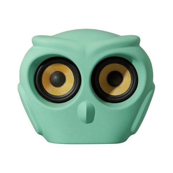 aOwl bluetooth speaker green