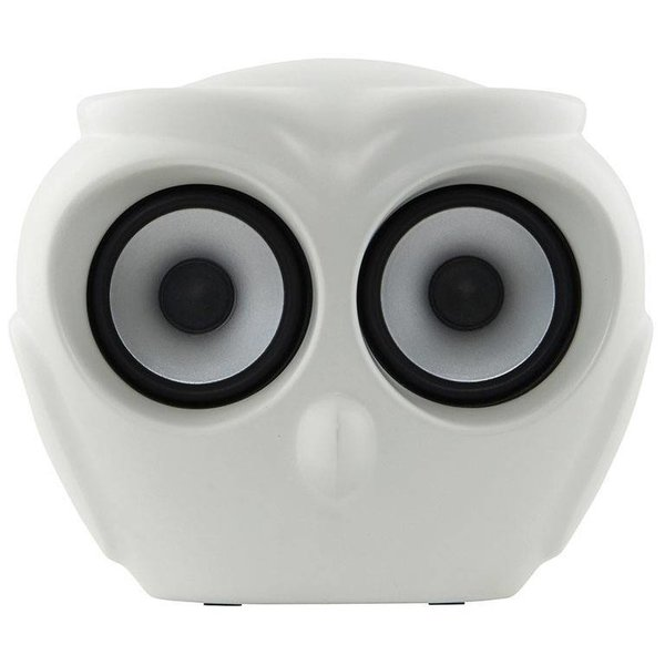 aOwl bluetooth speaker white