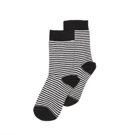 MINGO Socks b/w stripes