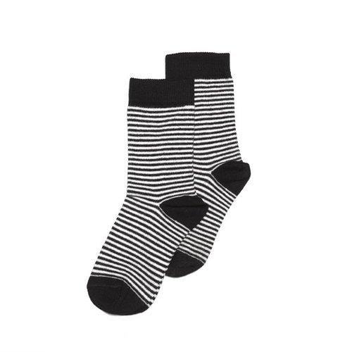 MINGO Socks b/w stripes sokken