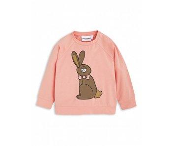 Mini Rodini Rabbit SP LS Cuff Tee pink
