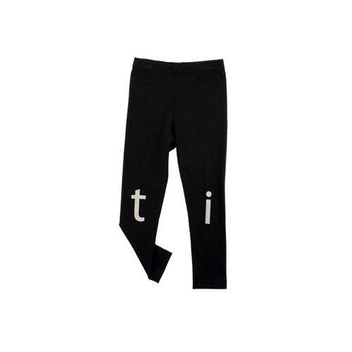 Tinycottons t-i-n-y logo pant black