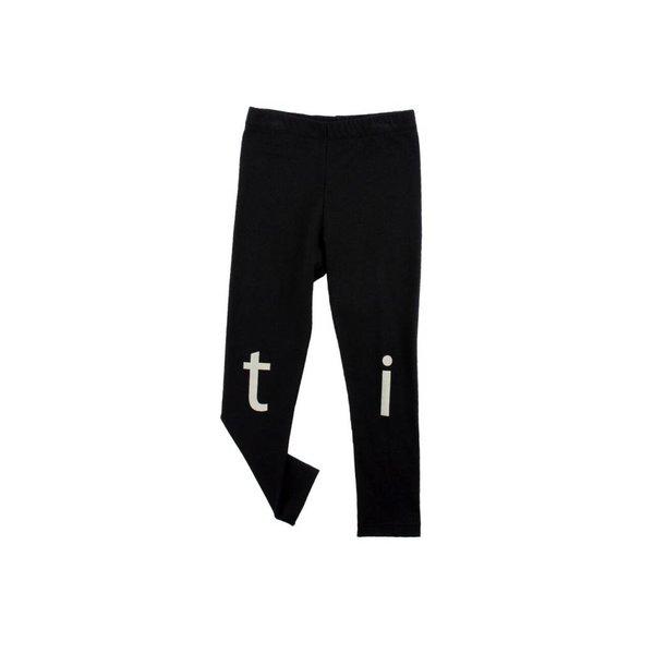 t-i-n-y logo pant zwart