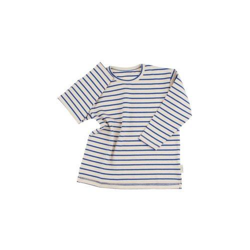 Tinycottons Stripes tee beige/blauw