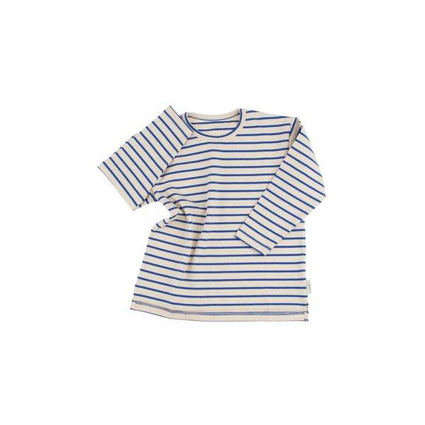 Stripes shirt beige/blauw