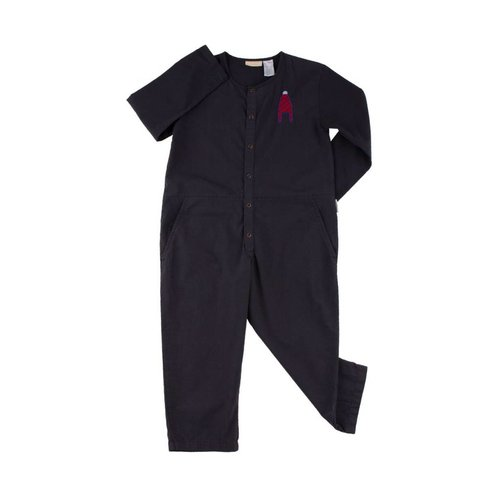 Tinycottons Hat woven onepiece donkerblauw