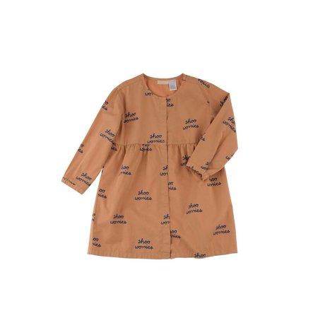 Tinycottons Shoo worries woven dress