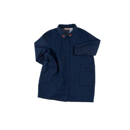 Tinycottons Denim shirt dress