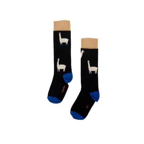 Tinycottons llamas hairy high socks
