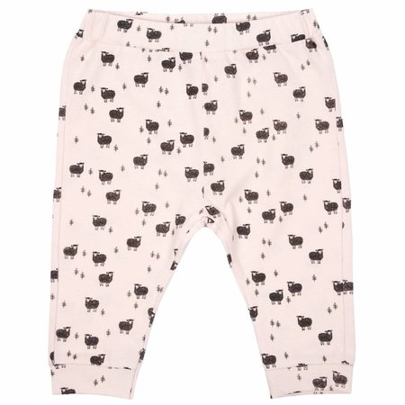 Emile et Ida Jersey harem pant rose all-over Moutons