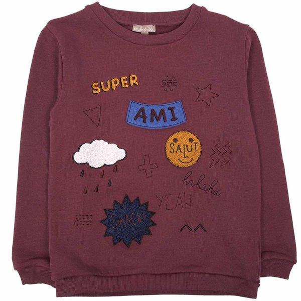 Sweatshirt Prune Ami
