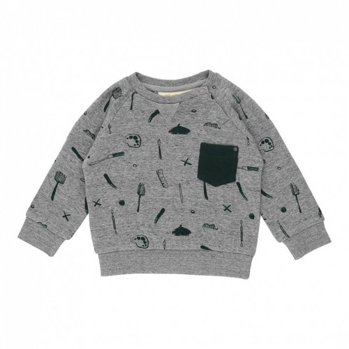 Soft Gallery Baby Ryan Sweatshirt AOP Painter