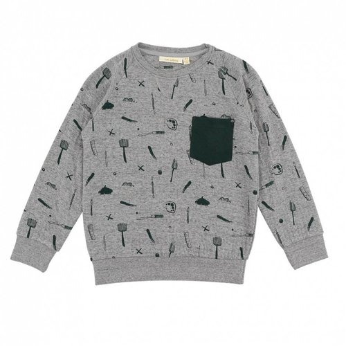 Soft Gallery Ryan Sweatshirt AOP Painter