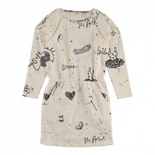 Soft Gallery Janel Dress AOP Artisan
