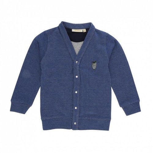 Soft Gallery Alvin Cardigan Owl Patch