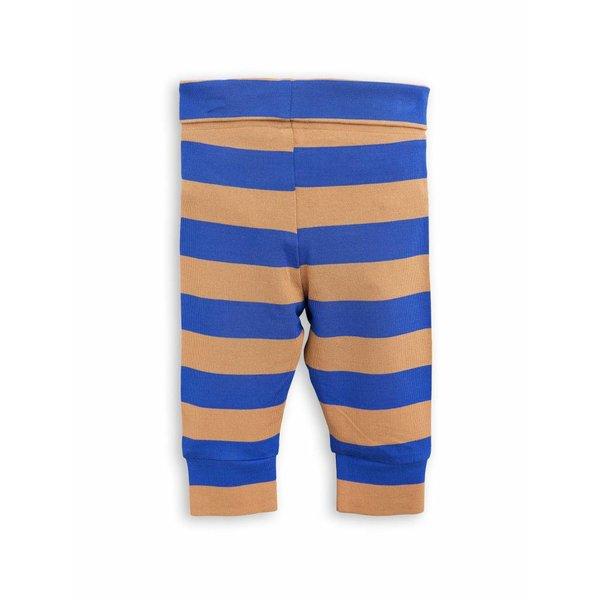 Blockstripe Leggings NB blue