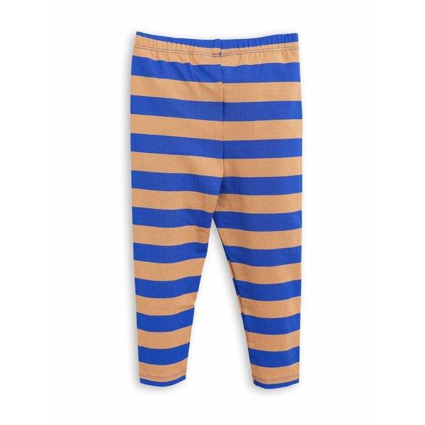 Blockstripe Leggings blue