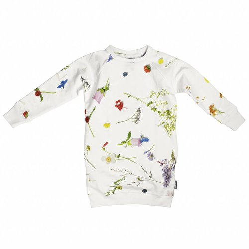 SNURK Flower Field Sweater Dress