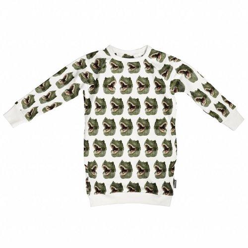 SNURK Dinosaur Sweater Dress