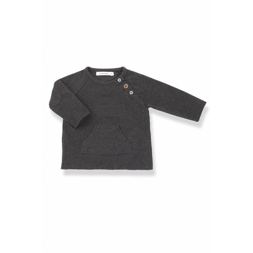 1+ in the Family Conrad T-shirt Anthracite