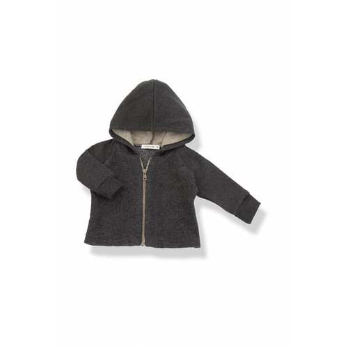 1+ in the Family Gabriel Hood Jacket Anthracite