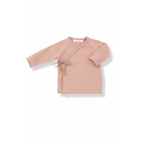 1+ in the Family Myla-eur New Born Shirt Rose
