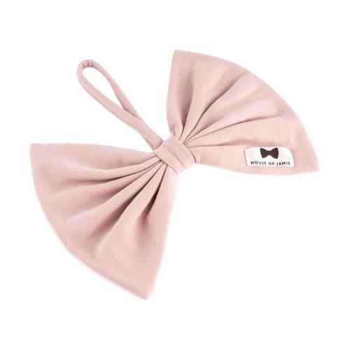 House of Jamie Speendoekje Bow Tie Powder Pink
