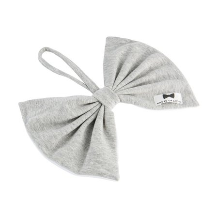 House of Jamie Pacifier Cord Bow Tie Stone