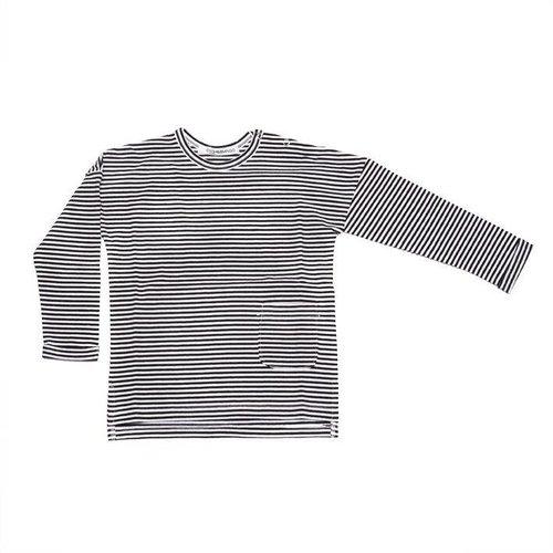 MINGO Longsleeve T-shirt B/W Stripes