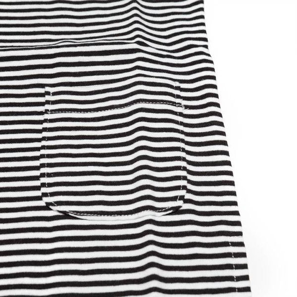 Longsleeve T-shirt B/W Stripes