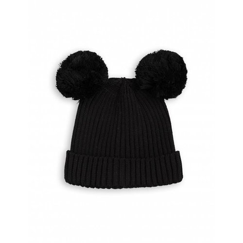 Mini Rodini EAR Hat Black muts