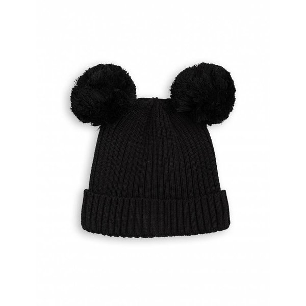 EAR Hat Black